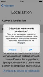 Apple iPhone 5 (iOS 8) - Premiers pas - Créer un compte - Étape 11