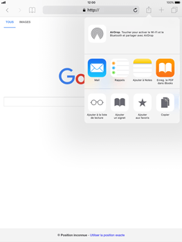 Apple iPad Air iOS 11 - Internet et roaming de données - Navigation sur Internet - Étape 7