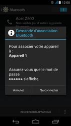 Acer Liquid Z500 - Bluetooth - connexion Bluetooth - Étape 9