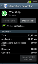 Samsung Galaxy Trend Lite - Applications - Comment désinstaller une application - Étape 6