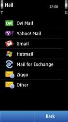 Nokia N8-00 - E-mail - Manual configuration - Step 7