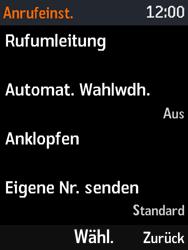 Nokia 3310 - Anrufe - Rufumleitungen setzen und löschen - Schritt 5