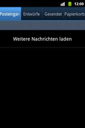 Samsung S5690 Galaxy Xcover - E-Mail - Konto einrichten - Schritt 4
