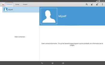 Sony Xperia Tablet Z2 4G (SGP521) - Contacten en data - Contacten kopiëren van SIM naar toestel - Stap 5