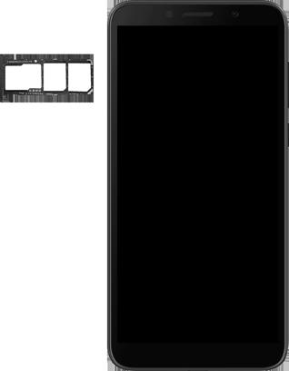 Huawei Y5P - Premiers pas - Insérer la carte SIM - Étape 3