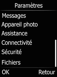 Doro 6520 - Internet et connexion - Désactiver la connexion Internet - Étape 4