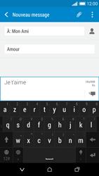 HTC Desire 610 - Contact, Appels, SMS/MMS - Envoyer un MMS - Étape 13