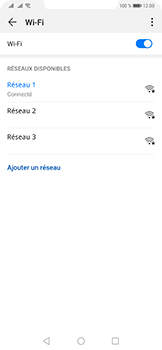 Huawei Mate 20 Pro - Wi-Fi - Accéder au réseau Wi-Fi - Étape 8