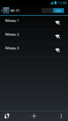 Acer Liquid Z5 - WiFi - configuration du WiFi - Étape 6