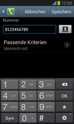 Samsung I8190 Galaxy S3 Mini - Anrufe - Anrufe blockieren - Schritt 11