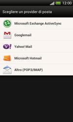 HTC One SV - E-mail - Configurazione manuale - Fase 5