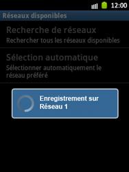Samsung Galaxy Pocket - Réseau - Sélection manuelle du réseau - Étape 10