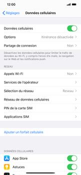 Apple iPhone 11 - Sécuriser votre mobile - Personnaliser le code PIN de votre carte SIM - Étape 4