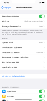 Apple iPhone 11 - Sécurité - modifier SIM PIN - Étape 4
