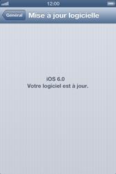 Apple iPhone 4S - Logiciels - Installation de mises à jour - Étape 8