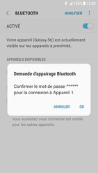 Samsung Galaxy S6 - Android Nougat - Bluetooth - Jumelage d