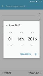 Samsung Galaxy S7 - Beveiliging en ouderlijk toezicht - Samsung account instellen - Stap 11