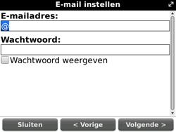 BlackBerry 9700 Bold - E-mail - Handmatig instellen - Stap 9