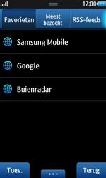 Samsung S8530 Wave II - Internet - hoe te internetten - Stap 9