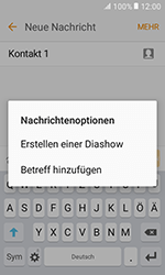 Samsung G389 Galaxy Xcover 3 VE - MMS - Erstellen und senden - Schritt 15