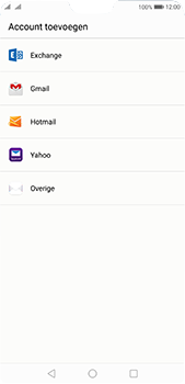 Huawei P20 Pro - E-mail - e-mail instellen: POP3 - Stap 4