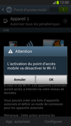 Samsung Galaxy Note 2 - Internet et connexion - Partager votre connexion en Wi-Fi - Étape 11