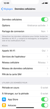 Apple iPhone XS - Internet - Utilisation à l