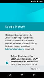 Alcatel OT-6039Y Idol 3 (4.7) - Apps - Konto anlegen und einrichten - Schritt 14