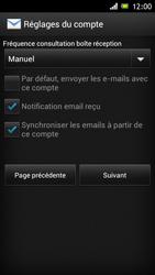 Sony Xperia J - E-mail - Configuration manuelle - Étape 15