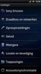 Sony Xperia Ray - Internet - Handmatig instellen - Stap 4