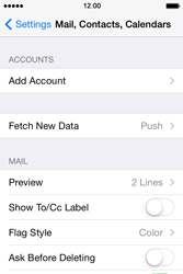 Apple iPhone 4S iOS 7 - E-mail - 032b. Email wizard - Yahoo - Step 5