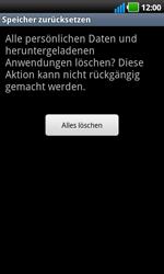 LG Optimus Black - Fehlerbehebung - Handy zurücksetzen - 9 / 10