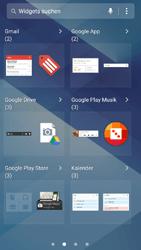Samsung Galaxy A3 (2017) - Startanleitung - Installieren von Widgets und Apps auf der Startseite - Schritt 5