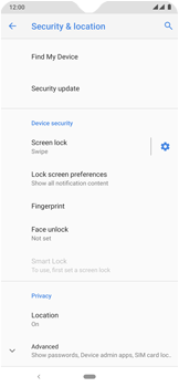 Nokia 7.2 - Getting started - How to enable a SIM pin - Step 5