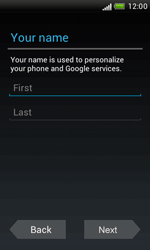 HTC Desire X - Applications - Setting up the application store - Step 6