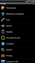 HTC X515m EVO 3D - Voicemail - Manual configuration - Step 4