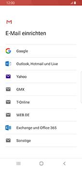 Samsung Galaxy S9 - Android Pie - E-Mail - Konto einrichten (gmail) - Schritt 7