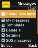 Samsung J700 - MMS - Sending pictures - Step 3
