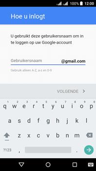 Acer Liquid Z630 - Applicaties - account instellen - Stap 10