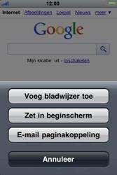 Apple iPhone 4 - Internet - internetten - Stap 5
