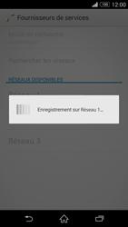 Sony Xperia Z3 Compact - Réseau - Sélection manuelle du réseau - Étape 9