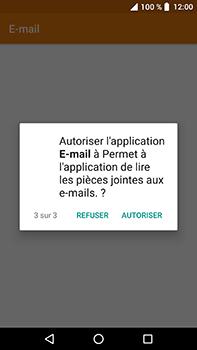 Crosscall Trekker X4 - E-mails - Ajouter ou modifier un compte e-mail - Étape 6
