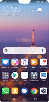 Huawei P20 Pro - Instellingen - ontvangen via SMS - Stap 1