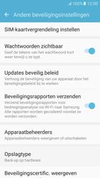Samsung Galaxy S6 - Android M - Beveiliging en ouderlijk toezicht - Hoe wijzig ik mijn SIM PIN-code - Stap 6