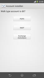 Sony Xperia M2 (D2303) - E-mail - Handmatig instellen - Stap 7