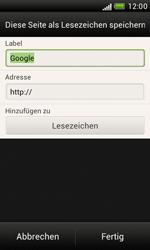 HTC Desire X - Internet und Datenroaming - Verwenden des Internets - Schritt 8
