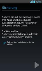 LG Optimus L7 II - Apps - Konto anlegen und einrichten - 23 / 25