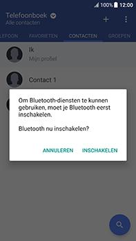 HTC U11 - Contactgegevens overzetten - delen via Bluetooth - Stap 10