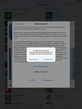 Apple iPad Mini 4 - Apps - Konto anlegen und einrichten - 21 / 35