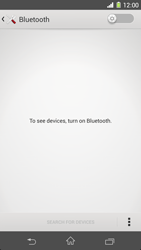 Sony Xperia Z1 - Bluetooth - Connecting devices - Step 5